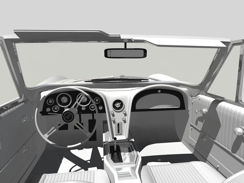 corvette Interieur 2